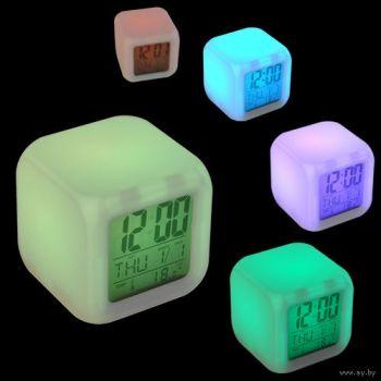 04cedb5c9d8 Kauni värvimuutva LED-valgusega 5-in-1 kuubik-äratuskell