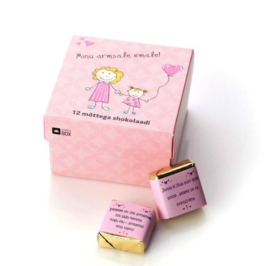 e71b1b75095 Эксклюзивный набор «Для мамочки» с 12 конфетами птичье молоко на эстонском  языке!